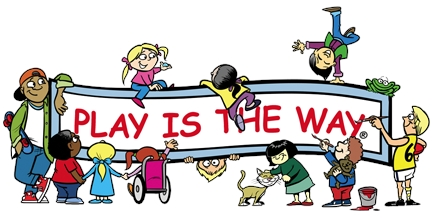 PLAY IS THE WAY LOGO