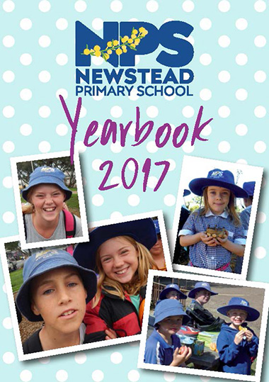 Newstead Primary School Yearbook cover